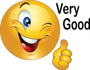 smiley very good